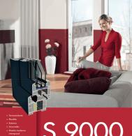 Sistema de perfil S9000 GEALAN - Cordovent